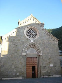 Church of St Lawrence and Oratory, Manarola, Cinque Terre