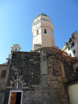 Church of St. Margaret of Antioch, Vernazza, Cinque Terre