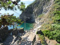 Corniglia - Road to the beach, 4320x3240, 2.63 MB
