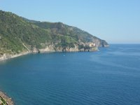 Corniglia - Panoramic view on Manarola from Long Stair, 4320x3240, 1.48 MB