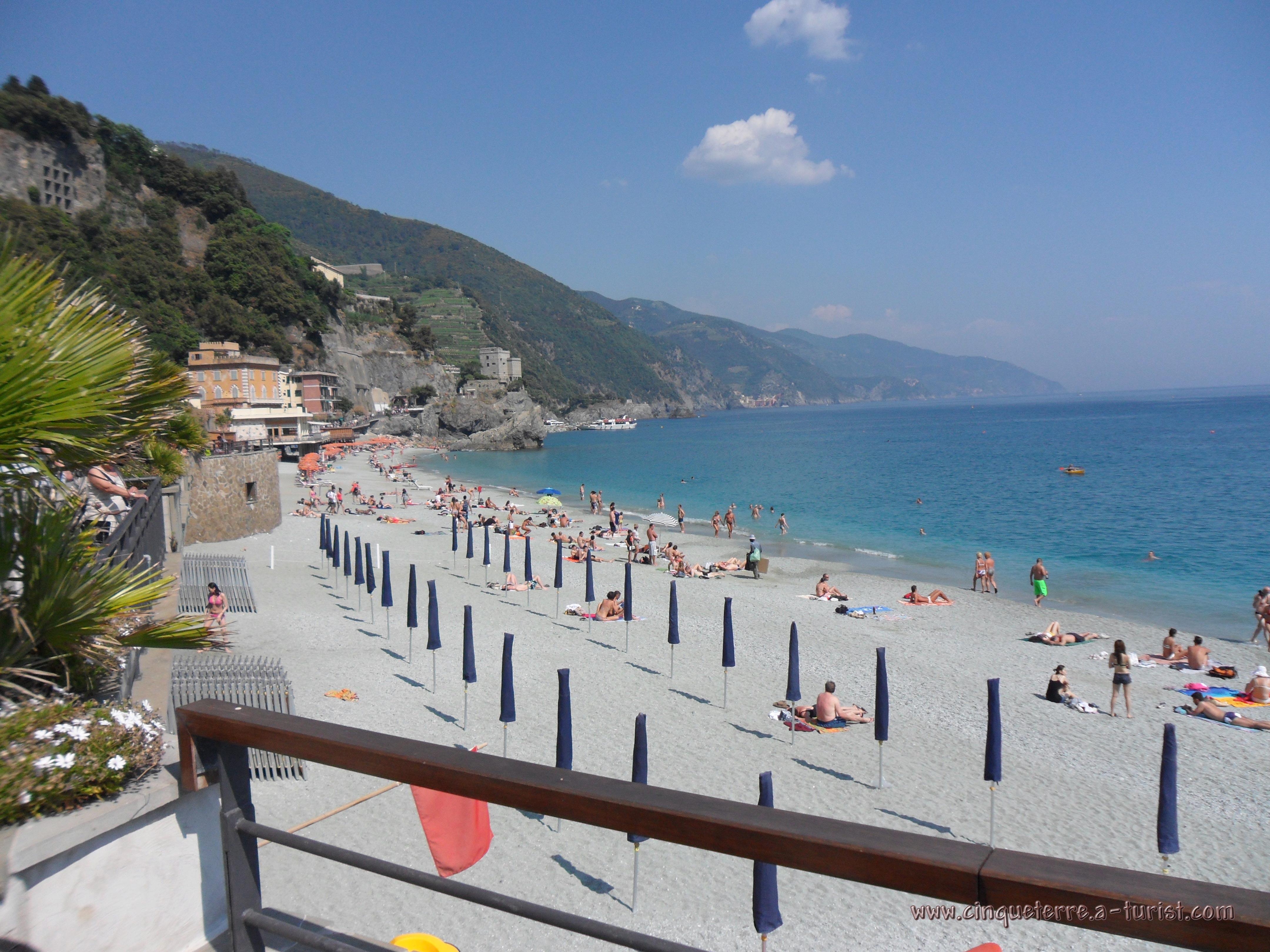 Cinque Terre Monterosso Beach