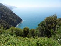 The Blue Path - Path Monterosso - Vernazza (May, 2012), 4320x3240, 2.30 MB