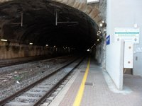 Riomaggiore - Tunnel for trains (you can see the end - Manarola), 4320x3240, 1.23 MB