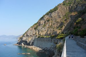 blue path - 2nd itinerary - Cinque Terre